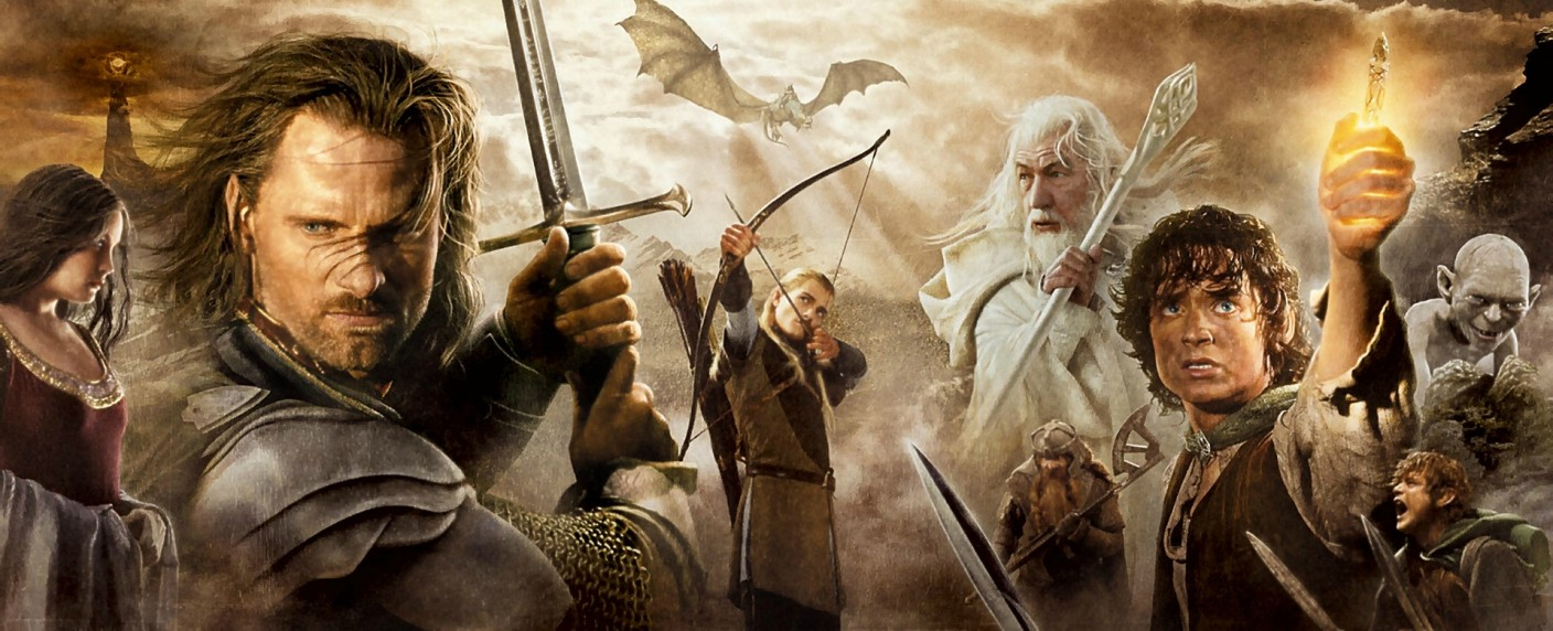"Ausschnitt aus dem Poster zu ""Lord of the Rings"" – Bild: © 2003 Lord Dritte Productions Deutschland Filmproduktion, GmbH & Co. KG & New Line Productions, Inc."