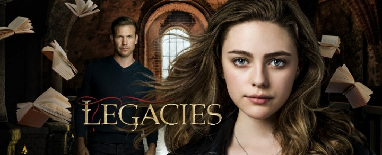"Hope Mikaelson (Danielle Rose Russell, r.) und Alaric Saltzman (Matthew Davis) in ""Legacies"" – Bild: The CW"