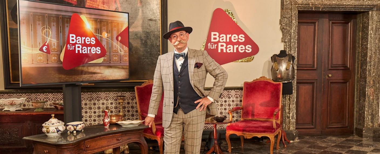 """Horst Lichter präsentiert """"Bares für Rares"""" – Bild: ZDF/Frank Dicks"""