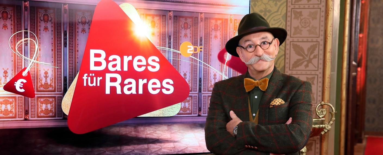 """Horst Lichter präsentiert """"Bares für Rares"""" – Bild: ZDF/Frank W. Hempel"""