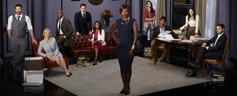 """Der Cast der US-Serie """"How to get Away with Murder"""" – Bild: ABC"""