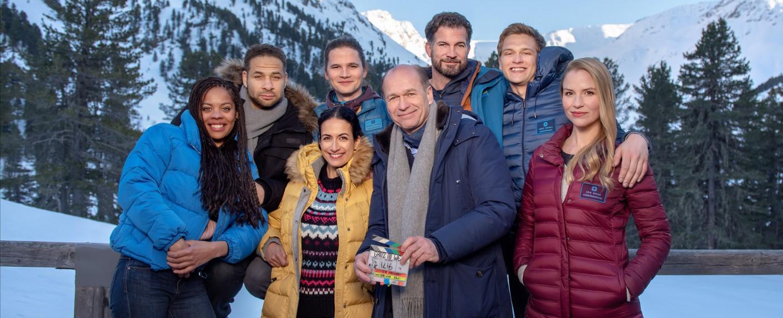 """Drehstart zum Special """"Ganz in Weiß"""" – Bild: ARD/Stefanie Leo"""