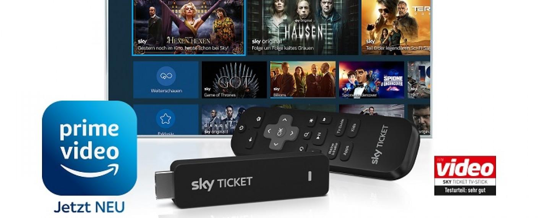 Inhalte von Amazon Prime Video sind ab sofort auch bei Sky verfügbar – Bild: Sky Deutschland