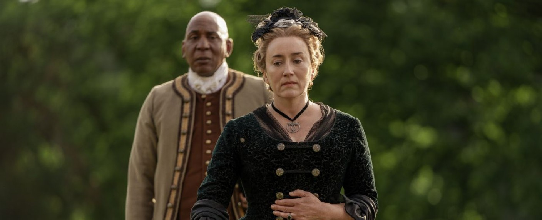 Jocasta (Maria Doyle Kennedy) und Ulysses (Colin McFarlane) – Bild: Starz