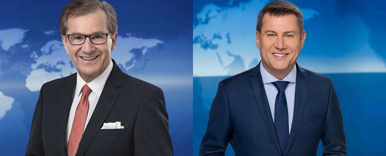 Jan Hofer (l.) und Jens Riewa (r.) – Bild: NDR/Thorsten Jander