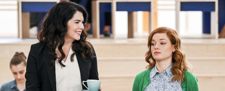 """Jane Levy (r.) und Lauren Graham (l.) in """"Zoey's Extraordinary Playlist"""" – Bild: NBC"""