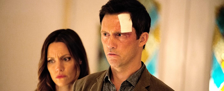 """Jeffrey Donovan (r.) und KaDee Strickland in """"Shut Eye"""" – Bild: Hulu"""