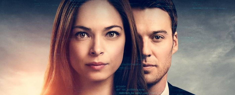 """Joanna (Kristin Kreuk) und Kollege Billy (Peter Mooney) in der zweiten Staffel von """"Burden of Truth"""" – Bild: CBC"""