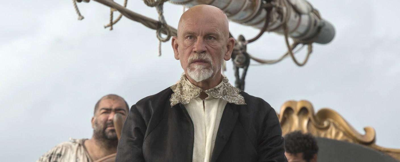 "John Malkovich als Edward 'Blackbeard' Teach in ""Crossbones"" – Bild: NBC"