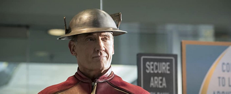 "John Wesley Shipp als alternativer ""Flash"" Jay Garrick aus dem Multiversum in ""The Flash"" – Bild: The CW"