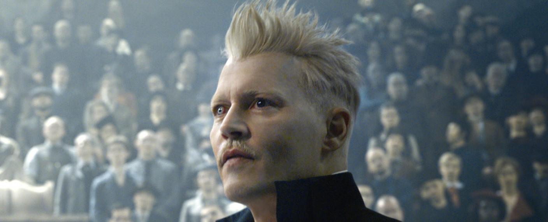 "Johnny Depp als Grindelwald in ""Phantastische Tierwesen"" – Bild: Warner Bros. Pictures"