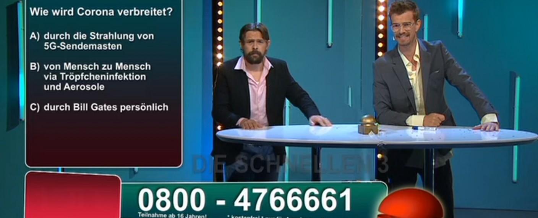 Joko & Klaas machen eine vernünftige Call-In-Show – Bild: ProSieben/Screenshot