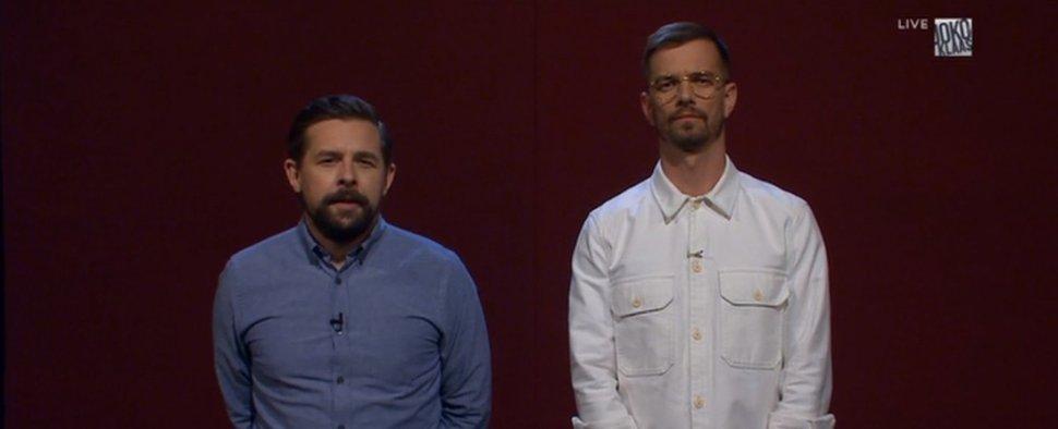 Joko & Klaas zeigten eine knapp siebenstündige Dokumentation über den Pflegenotstand in Deutschland. – Bild: ProSieben/Screenshot