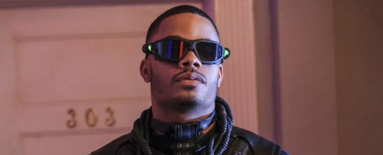 "Jordan Calloway als ""Painkiller"" aka Khalil Payne in der dritten Staffel von ""Black Lightning"" – Bild: Mark Hill / The CW"