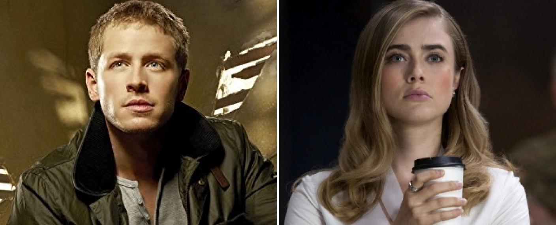 """Josh Dallas (l.) und Melissa Roxburgh (r.) sind die ersten Besetzungsmitglieder von """"Manifest"""" – Bild: ABC/The CW"""