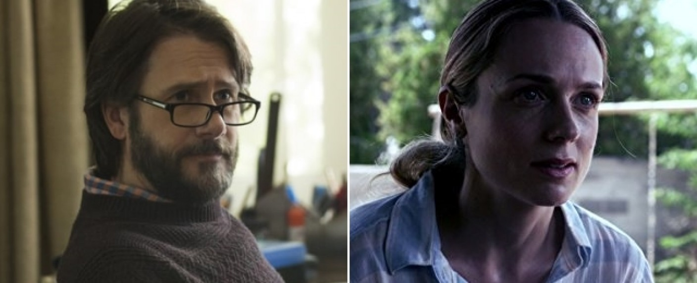 "Josh Hamilton (l.) und Kerry Condon (r.) sind neu bei ""Ray Donovan"" – Bild: Netflix/AMC"