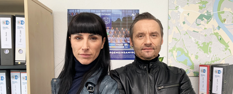 Lara Grünberg und Bernie Kuhnt – Bild: Sat.1/Nicole Adolph