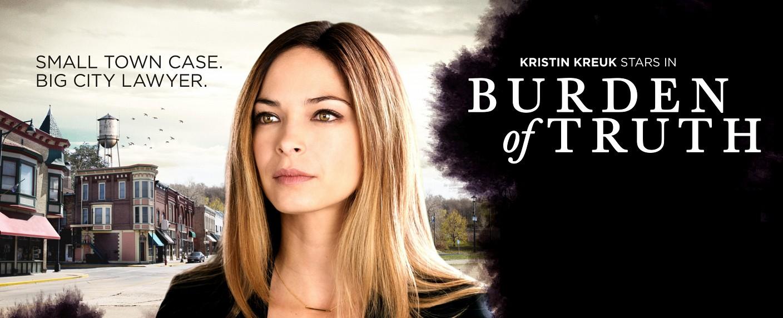 """Kristin Kreuk in """"Burden of Truth"""" – Bild: CBC"""