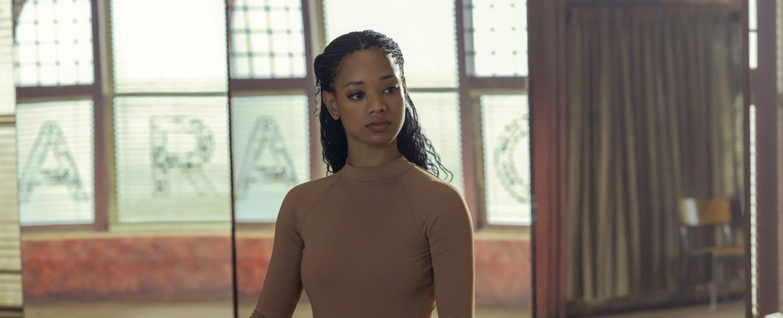 """Kylie Jefferson als Protagonistin Neveah in """"Dein letztes Solo"""" – Bild: Sophie Giraud/Netflix"""