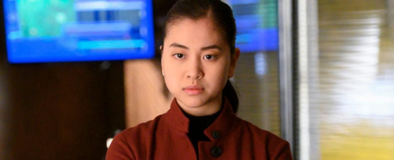 """Laura Sohn als FBI-Agentin Alina Park in der siebten Staffel von """"The Blacklist"""" – Bild: NBC"""