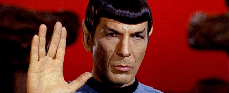 "Leonard Nimoy als Mr. Spock in der ""Star Trek""-Originalserie – Bild: CBS Paramount Television"