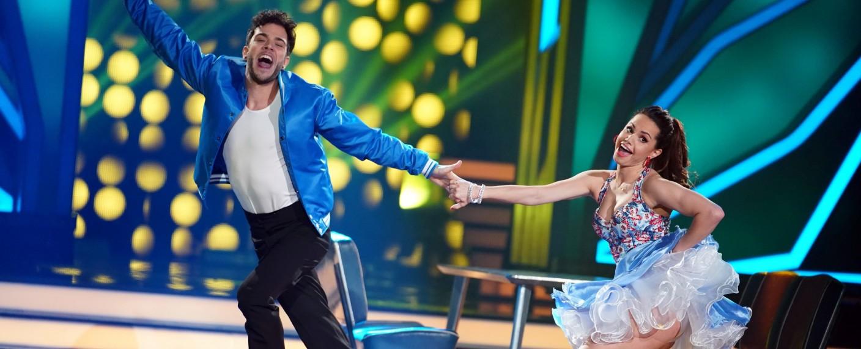 """""""Let's Dance"""": Luca Hänni und Christina Luft tanzten zunächst einen Jive – Bild: TVNOW/Stefan Gregorowius"""