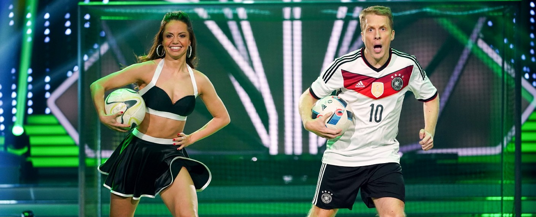 """""""Let's Dance"""": Oliver Pocher und Christina Luft tanzten noch einmal außer Konkurrenz. – Bild: TVNOW/Gregorowius"""