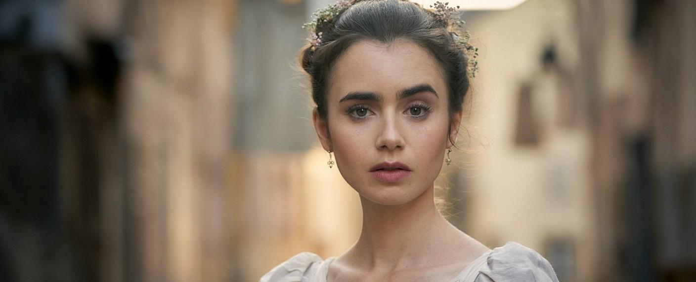 """Lily Collins als Fantine in """"Les Misérables"""" – Bild: BBC"""