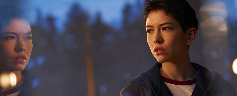 """Lily (Sonoya Mizuno) untersucht in der Science-Fiction-Serie """"Devs"""" den Tod ihres Freundes. – Bild: hulu"""