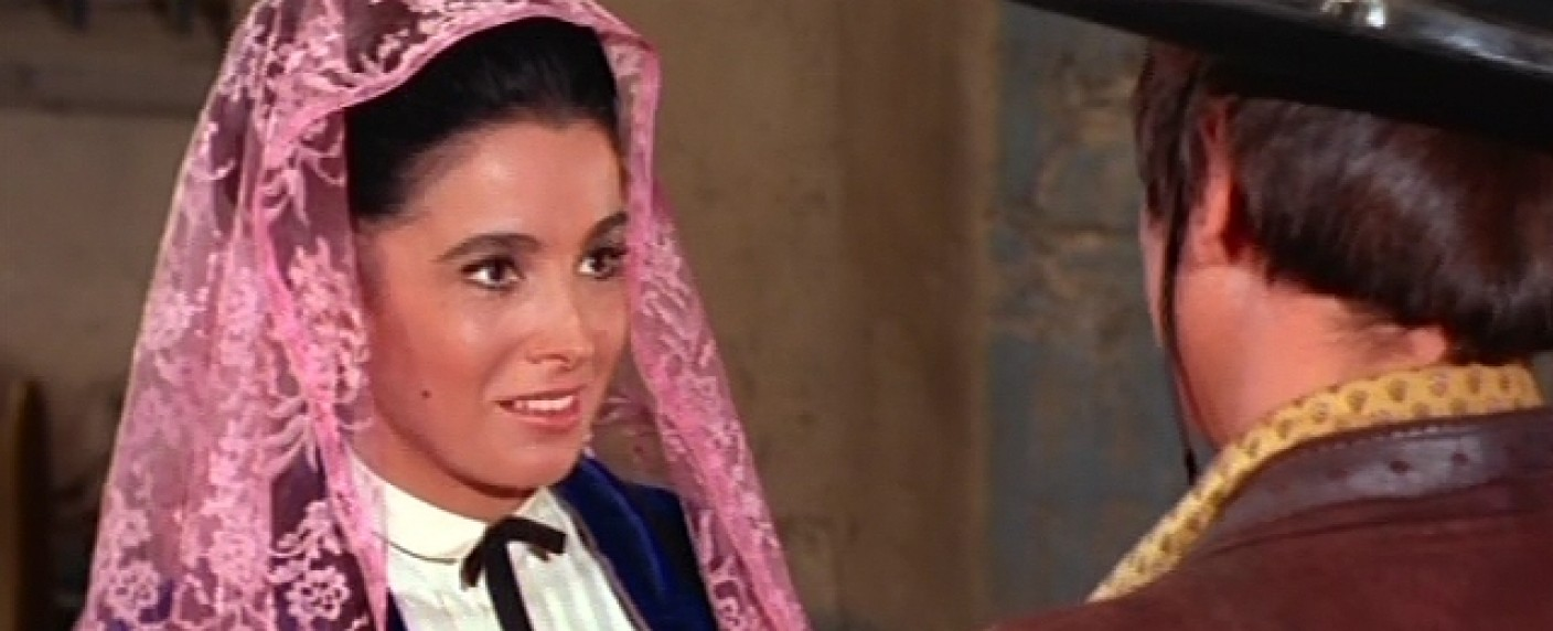 Linda Cristal (1931 – 2020) – Bild: YouTube/Screenshot