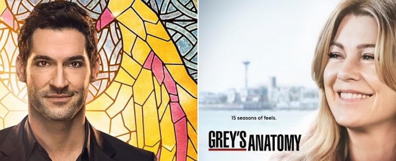 """""""Lucifer"""" und """"Grey's Anatomy"""" laufen auf ProSieben ab Ende März am Mittwochabend – Bild: FOX/ABC"""