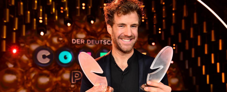 Luke Mockridge gewann gleich zwei Comedypreise – Bild: TVNOW/Willi Weber