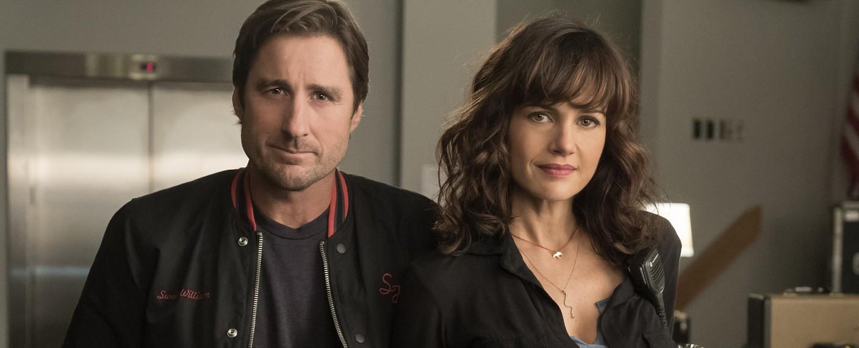 """Luke Wilson und Carla Gugino in der neuen Showtime-Serie """"Roadies"""" – Bild: Showtime"""