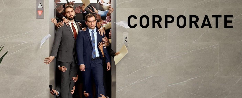 """Man hat es nicht leicht als Büro-Drohne: """"Corporate"""" – Bild: Comedy Central"""