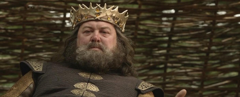 "Mark Addy als König Robert Baratheon in ""Game of Thrones"" – Bild: HBO"