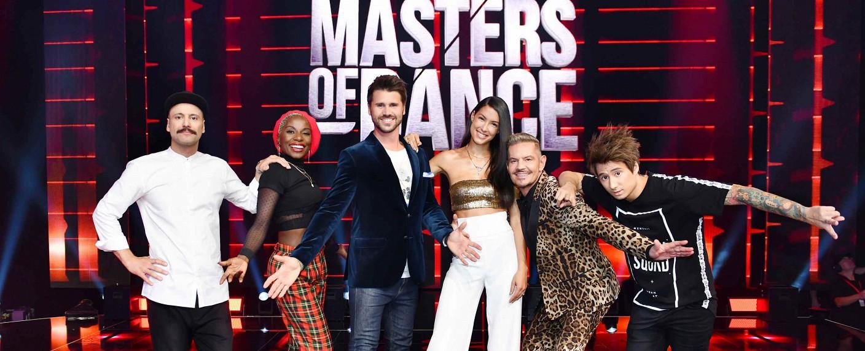 """""""Masters of Dance"""": Die Moderatoren und Dance Master – Bild: ProSieben/Willi Weber"""
