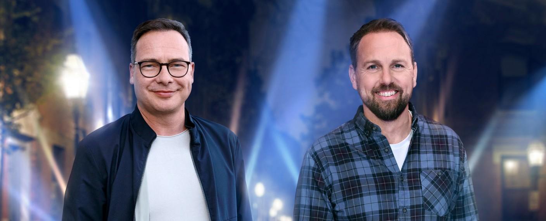 Matthias Opdenhövel und Steven Gätjen – Bild: ProSieben/Willi Weber/Christoph Hardt/Geisler-Fotopress
