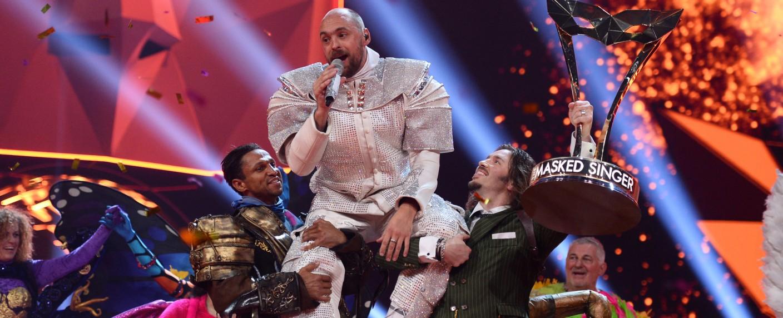 """Max Mutzke ist der Sieger der ersten Staffel von """"The Masked Singer"""" – Bild: ProSieben/Julia Feldhagen"""