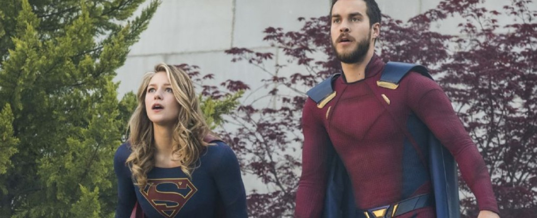 """Melissa Benoist (Supergirl) und Chris Wood (Mon-El) in """"Supergirl"""" – Bild: The CW"""