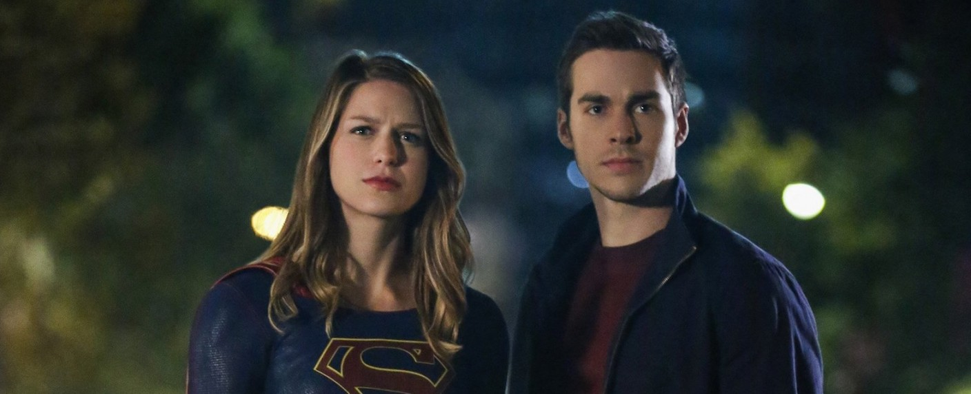 "Melissa Benoist als Kara und Chris Wood als Mon-El in ""Supergirl"" – Bild: The CW/Warner Bros. TV"