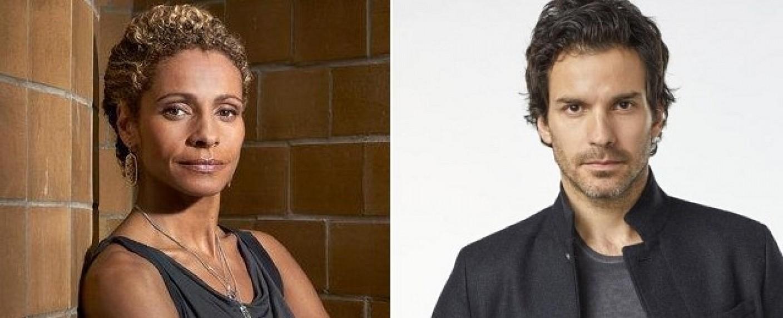 """Michelle Hurd in """"Blindspot"""" und Santiago Cabrera in """"Salvation"""" – Bild: NBC/CBS"""