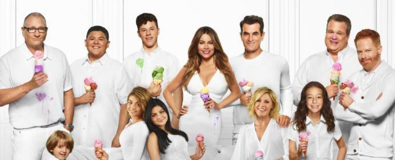 """Die """"Modern Family"""" kommt zum letzten Mal zusammen – Bild: ABC"""