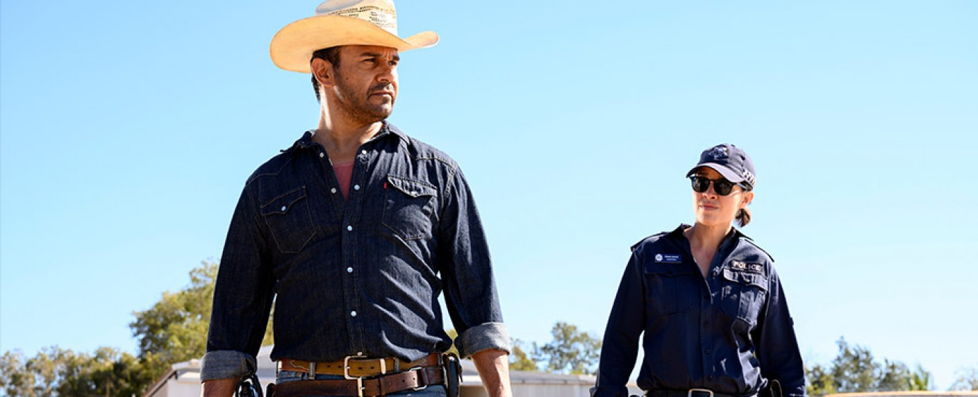 """Mystery Road"" mit Aaron Pedersen und Jada Alberts – Bild: ZDF/Bunya Production/All3Media International/David Dare Parker"