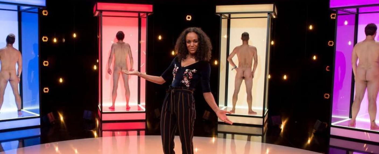 """""""Naked Attraction"""": Moderatorin Milka Loff Fernandes – Bild: RTL Zwei"""