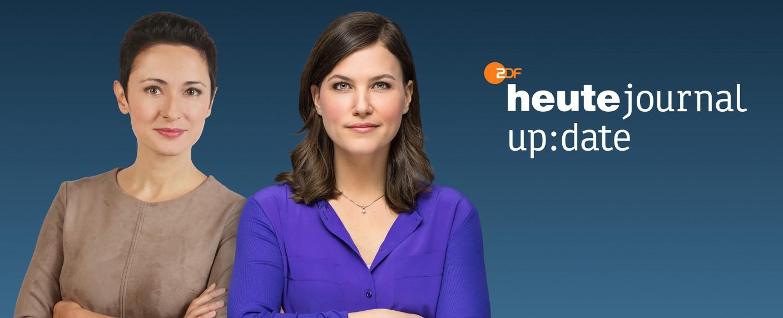 """Nazan Gökdemir (l.) und Hanna Zimmermann (r.) moderieren das """"heute journal update"""" – Bild: ZDF/[F]Rico Rossival/Jana Kay[M]/Dirk Staudt/ZDFMarketing"""