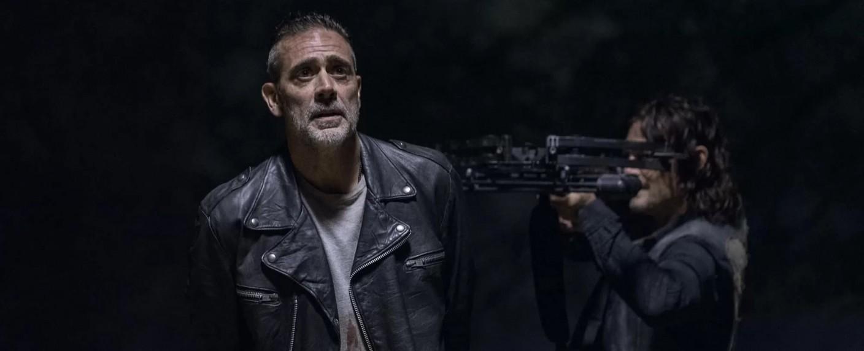 Negan (Jeffrey Dean Morgan) und Daryl (Norman Reedus) – Bild: AMC