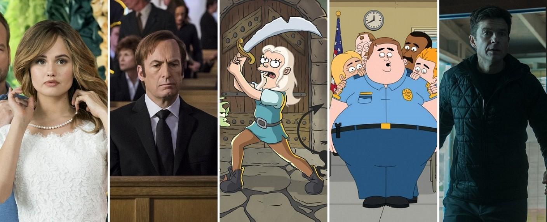 "Netflix-Highlights im August 2018: ""Isatiable"", ""Better Call Saul"", ""Disenchantemnt"", ""Paradise PD"" und ""Ozark"" – Bild: Netflix"