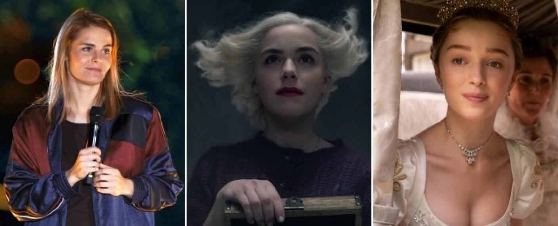 """Neu bei Netflix im Dezember: Stand-up mit Hazel Brugger, """"Chilling Adventures of Sabrina"""" und """"Bridgerton"""" – Bild: Netflix"""