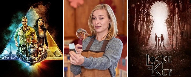 "Neu im Februar: ""Blood & Treasure"", ""Die Läusemutter"" und ""Locke & Key"" – Bild: CBS; Sat.1/Frank Dicks; Netflix"