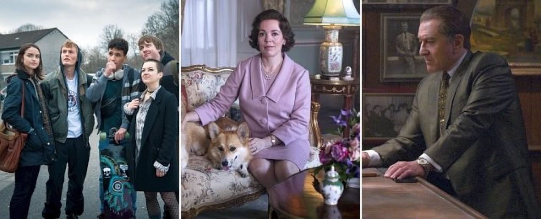"""Neue Eigenproduktionen bei Netflix im November 2019: """"Wir sind die Welle"""", Staffel drei von """"The Crown"""" und der Scorcese-Film """"The Irishman"""" – Bild: Netflix"""